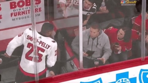 Devante Smith-Pelly victime de racisme