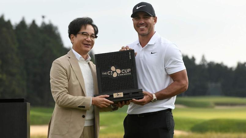 Brooks Koepka gagne en Corée et devient no 1 mondial
