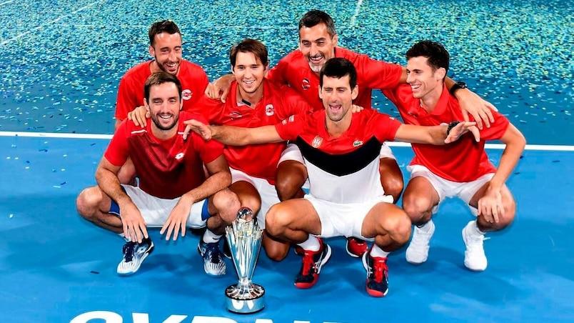 La Serbie remporte la Coupe ATP