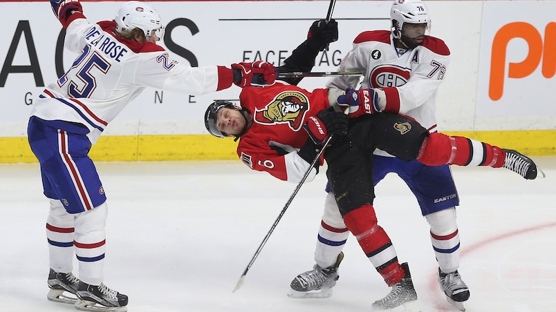 Ottawa Senators vs Montreal Canadiens