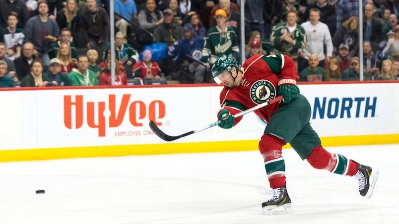 NHL: Winnipeg Jets at Minnesota Wild