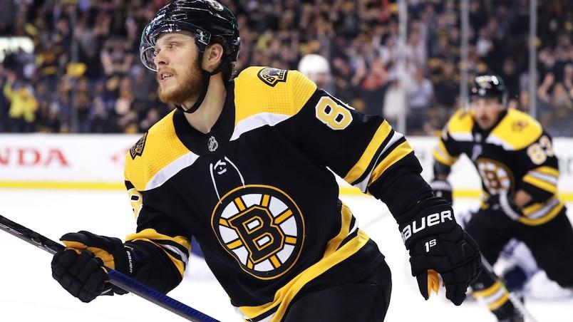 David Pastrnak, la bougie d'allumage des Bruins