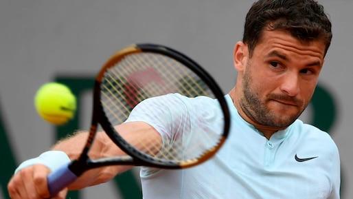 Roland-Garros: Grigor Dimitrov s'arrête encore au 3e tour