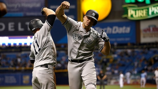 BBA-NEW-YORK-YANKEES-V-TAMPA-BAY-RAYS