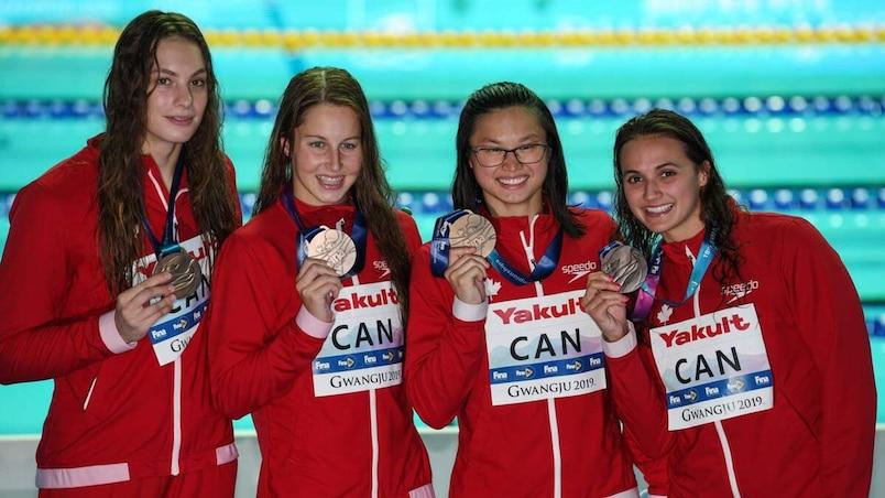 Mondiaux de la FINA : une performance record du Canada