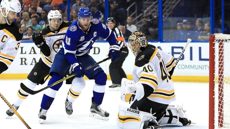 SPO-HKO-HKN-BOSTON-BRUINS-V-TAMPA-BAY-LIGHTNING---GAME-ONE