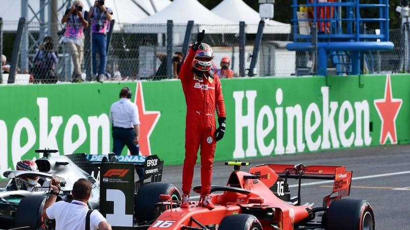 GP d'Italie: Charles Leclerc en tête, Lance Stroll 9e
