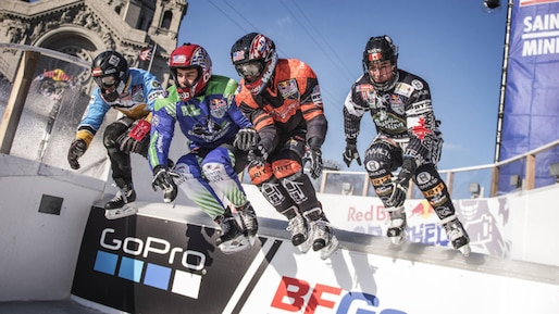 Ice Cross Downhill : quatre concurrents encore en lice pour le titre