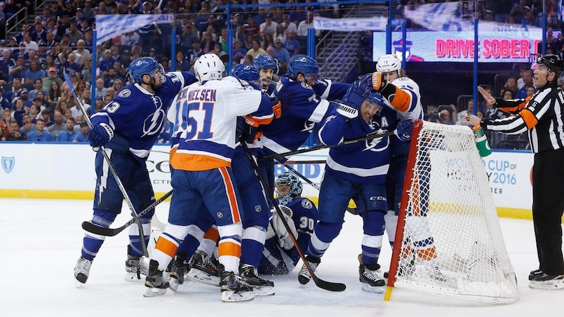 New York Islanders v Tampa Bay Lightning - Game Two
