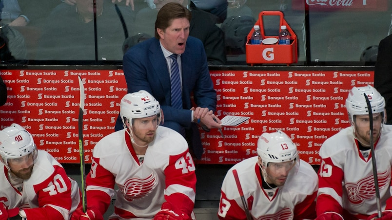 Les Red Wings souhaitent garder Babcock