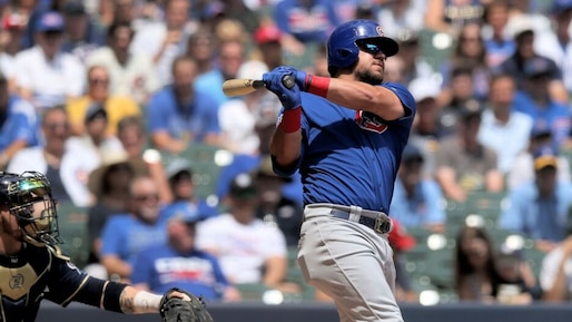 BBA-BBN-BBO-SPO-CHICAGO-CUBS-V-MILWAUKEE-BREWERS