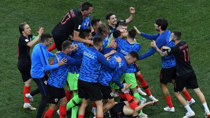 Mondial : la Croatie en quarts