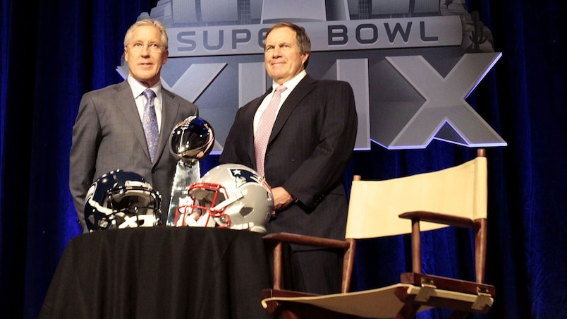 Pete Carroll et Bill Belichick