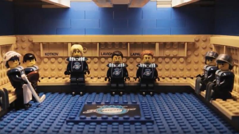 Les Saguenéens... en LEGO!