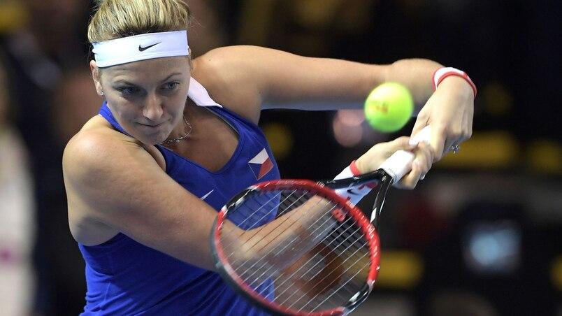 Une demi-année d'absence pour Kvitova