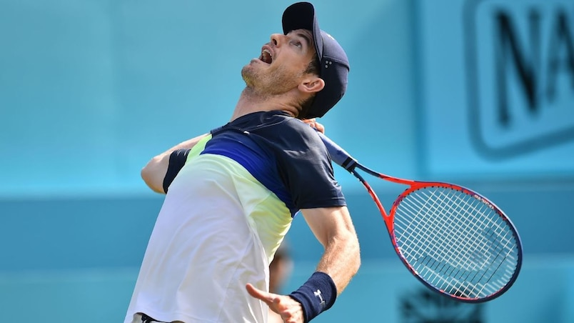 Andy Murray chute d'entrée pour son grand retour