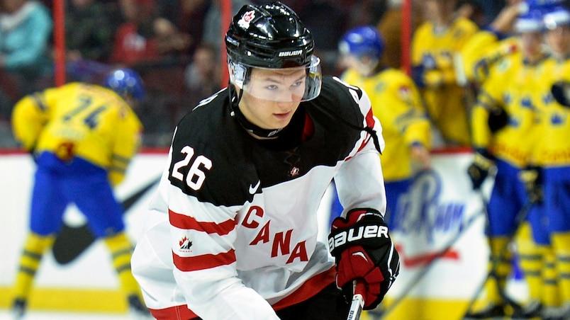 Lazar nommé capitaine d'Équipe Canada junior