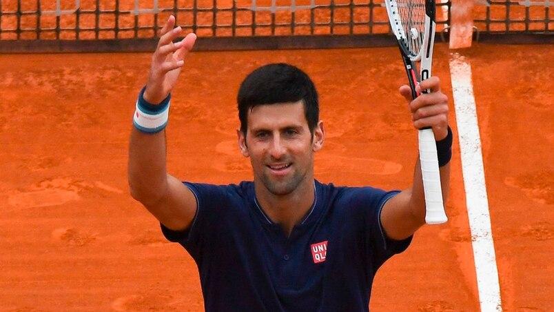 Monte-Carlo: Novak Djokovic a eu chaud contre Gilles Simon