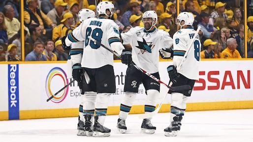NHL: Stanley Cup Playoffs-San Jose Sharks at Nashville Predators