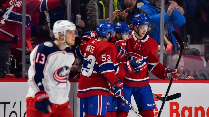 EN DIRECT: Blue Jackets - Canadiens