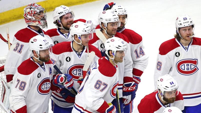 Les Canadiens l'ont emporté 2-0 dans le sixième match contre les Sénateurs, dimanche.