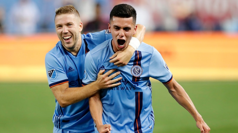 L'impressionnante séquence du New York City FC se poursuit
