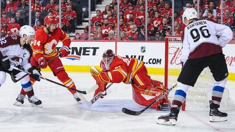 HKO-HKN-SPO-COLORADO-AVALANCHE-V-CALGARY-FLAMES---GAME-ONE