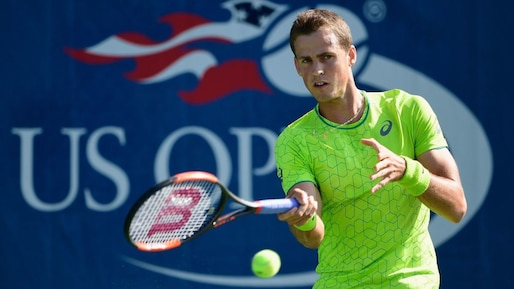 Vasek Pospisil s'incline au 1er tour en Chine