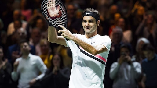 Un 97e titre pour Roger Federer