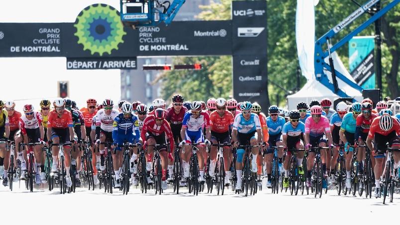 À TVA SPORTS: le Grand Prix cycliste de Montréal