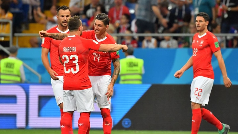 La Suisse soutire un match nul au Brésil