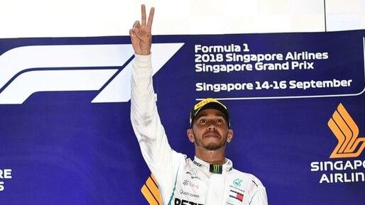 Lewis Hamilton à la poursuite de Michael Schumacher
