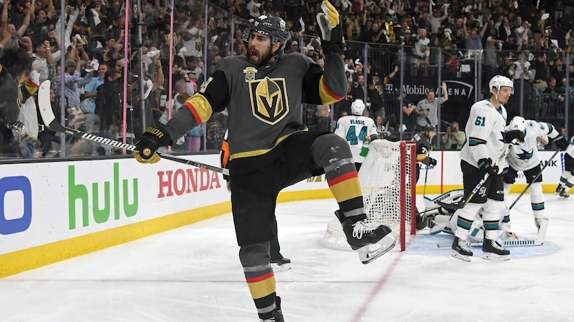 Les Golden Knights aux commandes