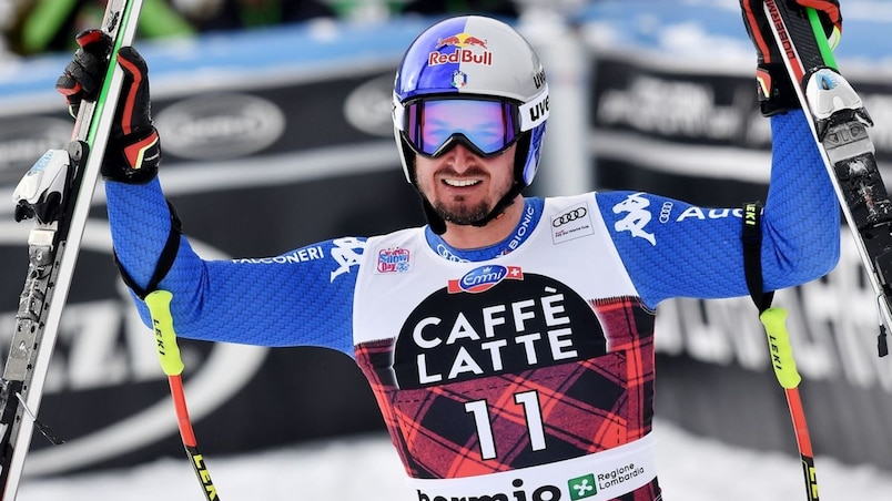 Ski alpin: Dominik Paris s'impose lors de la descente de Bormio