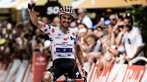 Tour de France: Julian Alaphilippe s'impose dans les Pyrénées