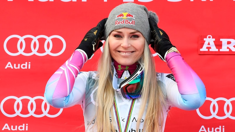 SKI-ALPINE-WORLD-WOMEN-DOWNHILL-PODIUM