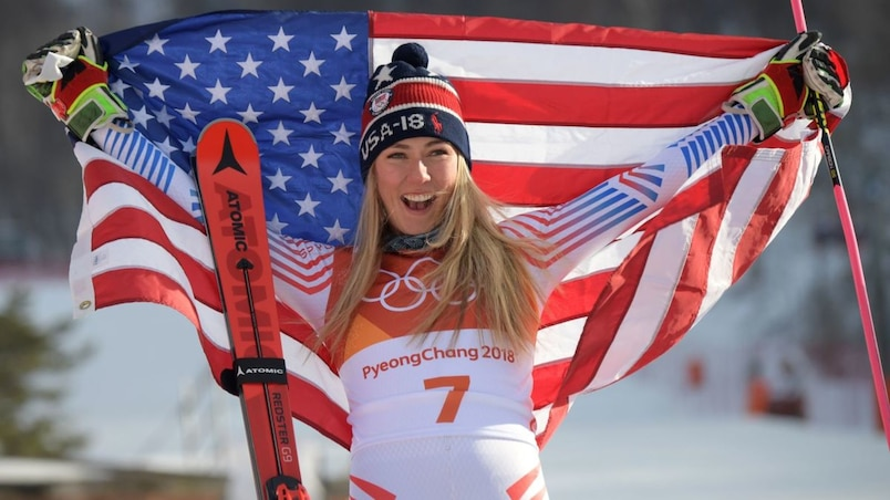Olympiques: Mikaela Shiffrin championne en slalom géant