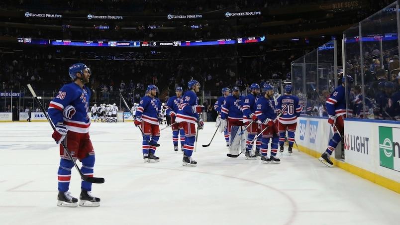 Pittsburgh Penguins v New York Rangers - Game Four