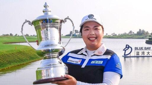 Shanshan Feng triomphe devant ses partisans