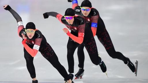 Olympiques: le Canada 4e à la poursuite