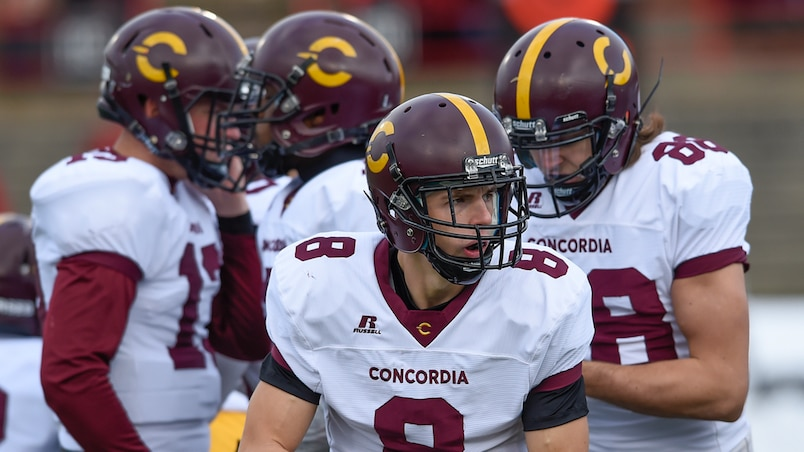 Football Universitaire RSEQ, Stingers de concordia vs Rouge et Or de Laval