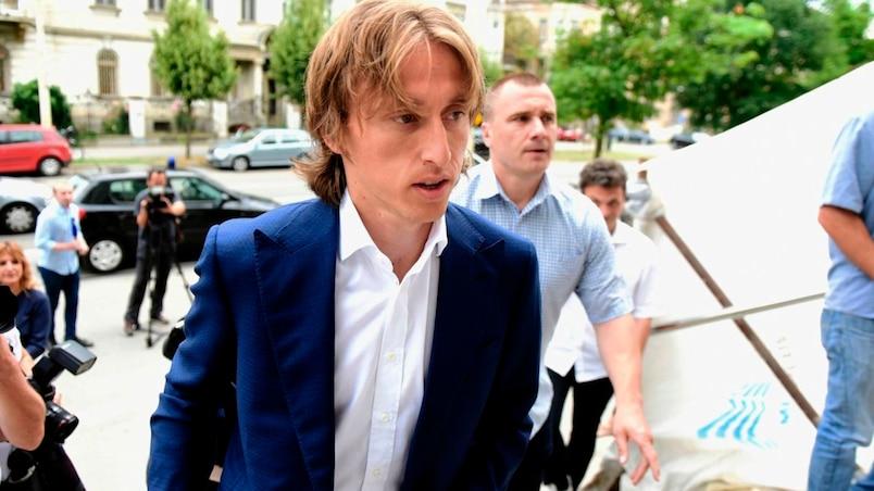 Luka Modric visé par une enquête pour faux témoignage