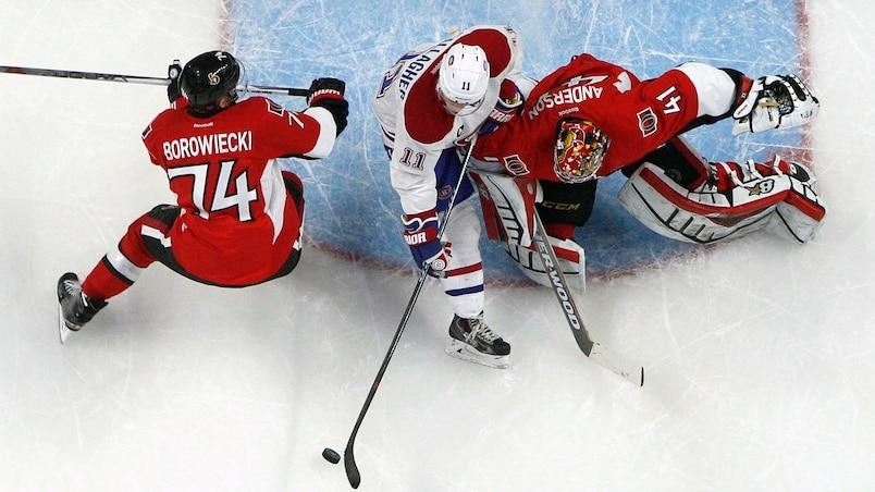 NHL: Stanley Cup Playoffs-Montreal Canadiens at Ottawa Senators