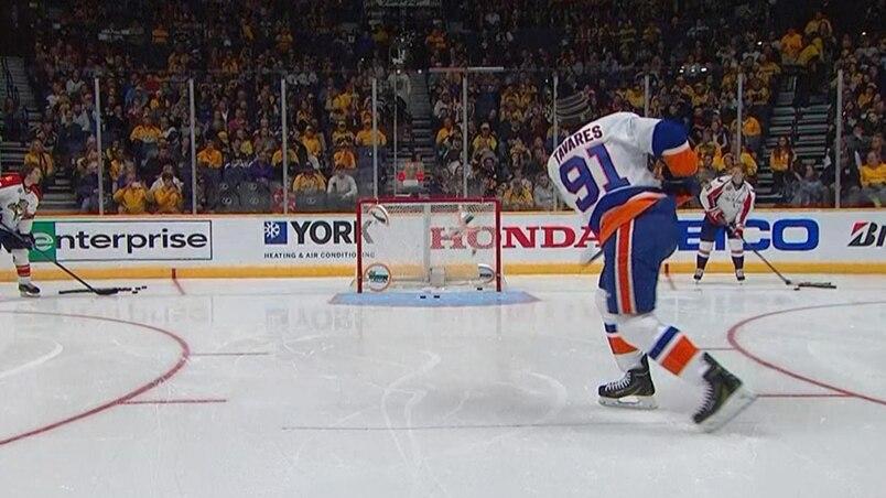 Tavares a le compas dans l'œil!