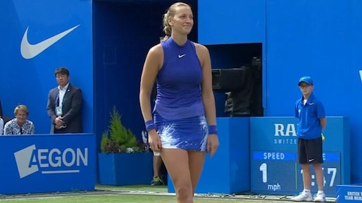 Petra Kvitova l'emporte à Birmingham