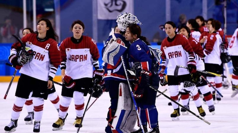 Olympiques: la Corée unifiée marque son premier but, mais perd encore