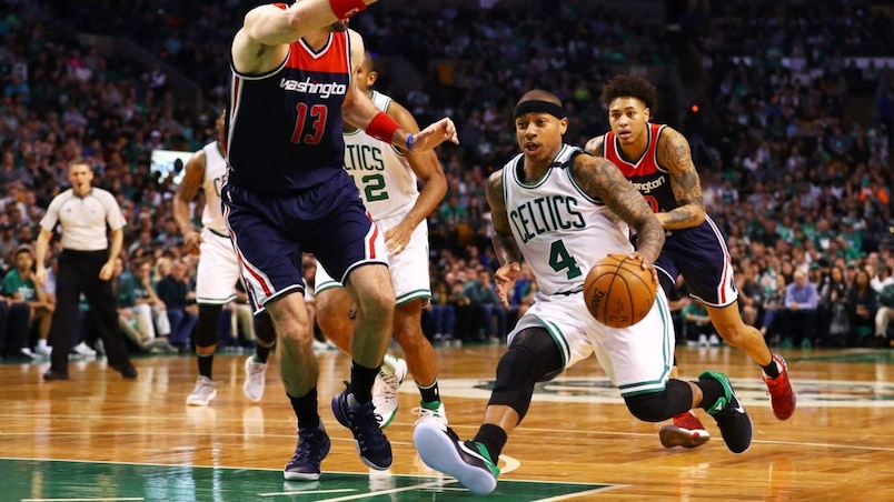 Washington Wizards v Boston Celtics - Game One