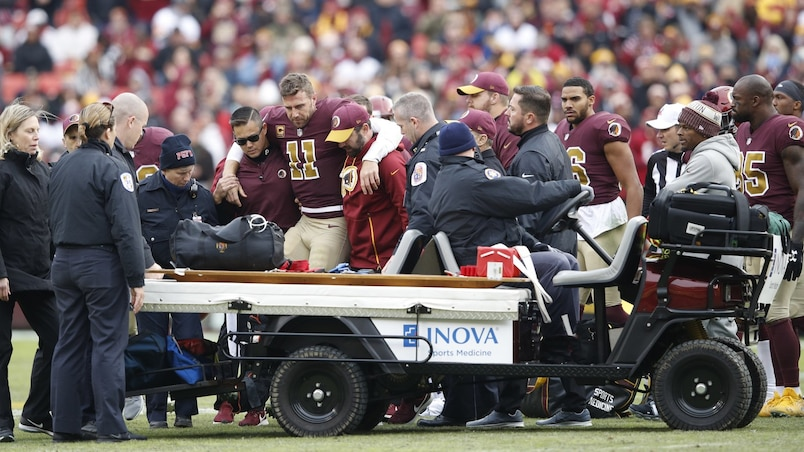 Une horrible blessure met fin à la saison d'Alex Smith