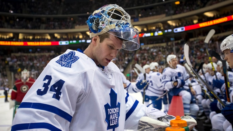 NHL: Toronto Maple Leafs at Minnesota Wild