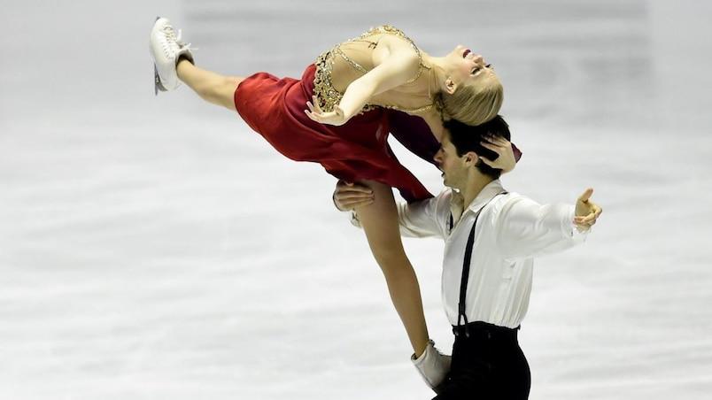 Kaitlyn Weaver et Andrew Poje gagnent la danse libre
